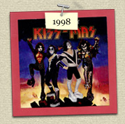 YEAR:&nbsp;1998&nbsp;&nbsp;&nbsp;&nbsp;COSTUME:&nbsp;Kiss' Ace Frehley (Steven) & Peter  				Criss (Susie)<P>IMAGE USED:&nbsp;Destroyer album cover