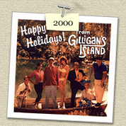 YEAR:&nbsp;2000&nbsp;&nbsp;&nbsp; 				&nbsp;COSTUME:&nbsp;Gilligan (Steven) & Maryann (Susie)<P>IMAGE USED:&nbsp;Gilligan's Island cast photo