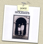 YEAR: 2002&nbsp;&nbsp;&nbsp; 				&nbsp;COSTUME:&nbsp;John Lennon (Steven) & Yoko Ono (Susie)<P>IMAGE USED:&nbsp;Wedding Album cover